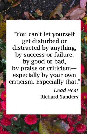 Dead Heat quote