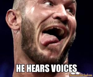 ... Randy Orton, Funny Wwe, Wwe 3, Randy Ortan, Orton Hearing, Orton Fans