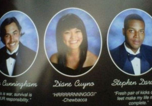 Funniest Yearbook Quotes: Chewbacca