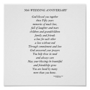 ... Download 35th Wedding Anniversary Gift Ideas 50th Poems Sayings For