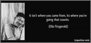 More Ella Fitzgerald Quotes