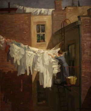 sloan 1871 1951 a woman s work 1912 john sloan painted this ... French ...