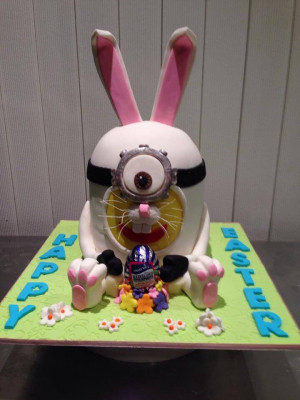 Easter Minion: Easter Cakes, Cakes Art, Cakes Cupcakes, Easter Minions ...