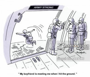 Paratrooper cartoons, Paratrooper cartoon, funny, Paratrooper picture ...