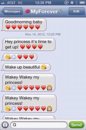 Want My boyfriend To Text Me