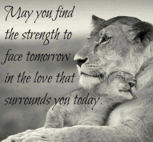 Strength, love, quote