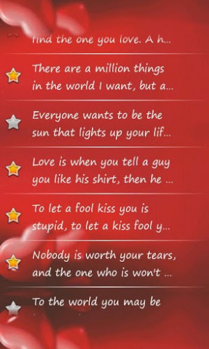 View bigger - Love & Romance Quotes Premium for Android screenshot