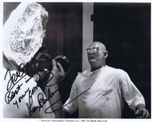 This Lon Chaney Jr was signed in person at a meeting of the Count ...