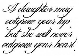 Father quotes to daughter, father quotes
