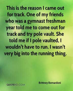 was a gymnast for years.