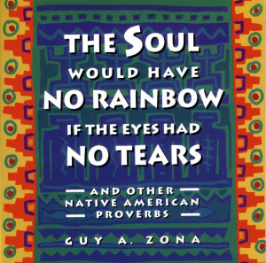 CP460- THE SOUL WOULD HAVE NO RAINBOW if the Eyes had No Tears by Guy ...