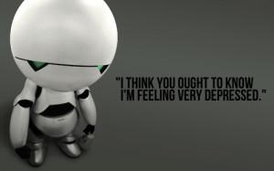 marvin depressed