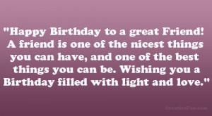 happy birthday special friend quotes happy birthday best friend i love ...