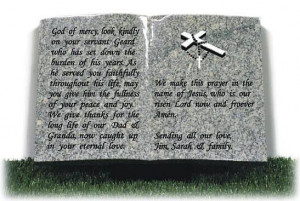 Grandfather Memorial Poems