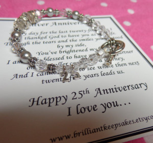 25th Wedding Anniversary Quotes and Poems