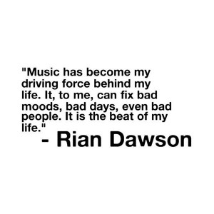 rian dawson quote. liked on Polyvore