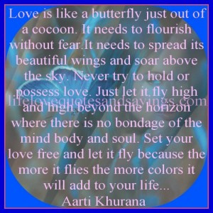 Love Is Like A Butterfly..