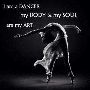 Ballet quote pointe