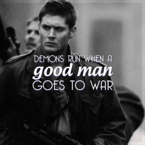 Dean Winchester   Huh, never thought about it before, but obvi this ...