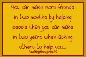 friendship quotes_Making Friends