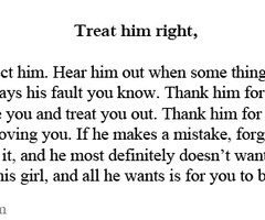 Treat Your Man Right Quotes