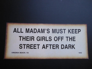 Funny Warning Signs For Women Vintage warning sign thick