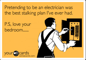 funny electrician