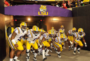 LSU Football: Picking Every 2012 Game on the Board Against the Spread