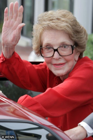 ... comes back to you. You get back what you give out. - Nancy Reagan