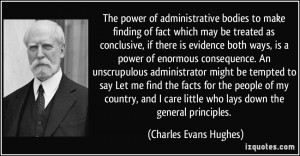 More Charles Evans Hughes Quotes