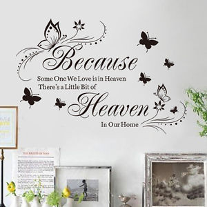 ... DIY Wall Quote Words Decals Vinyl Art Room Decor Removable Mural AUC01