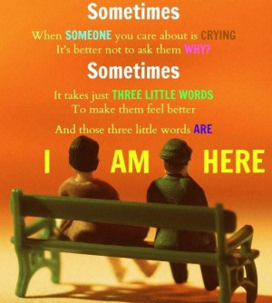 Someone Cares About You Quotes