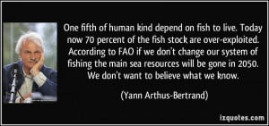 in 2050 We don 39 t want to believe what we know Yann Arthus Bertrand