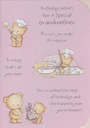 Birthday Cards, Female Relation Birthday Cards, Grandmother, Birthday ...