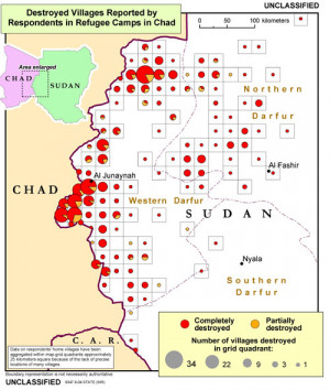 Darfur Genocide Map