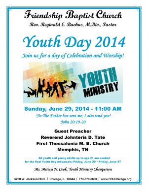 Youth Day Flyer