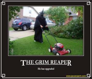 funny grim reaper quotes