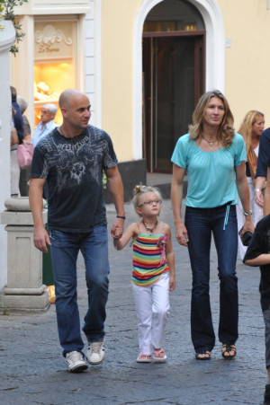 Andre Agassi and Steffi Graf's Island Escape