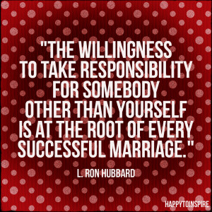 The Root of a Successful Marriage