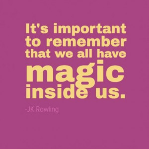 Seven Halloween Inspired Quotes about Magic