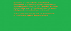 Peter Pan Quotes About Neverland Peter pan neverland quote 1 by