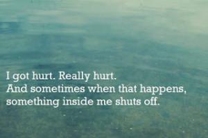 hurt quotes, hurts quotes, love hurt quotes, hurt heart quotes, hurt ...