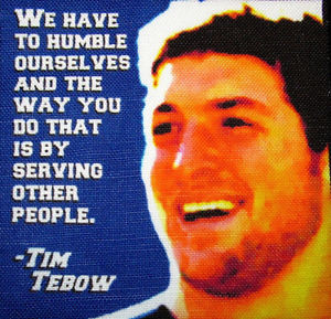 TIM-TEBOW-QUOTE-Printed-Patch-Sew-On-Vest-Bag-Backpack-Jacket