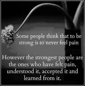Some people thinks that to be strong.... #Quotes #Daily #Famous # ...