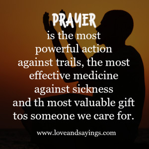 Most Powerful Action | Love and Sayings