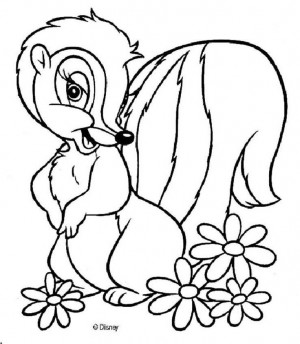 ... Flower Bambi, Bambi Coloring Pag Flower, Disney Colors Pages, Free