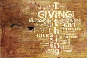 In this one Bible verse on generosity, the Apostle Paul talks about ...