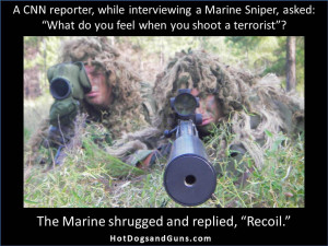 Marine Sniper On Shooting Terrorists