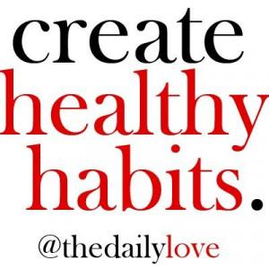 Create #HealthyHabits - #BikramYoga - #HealthyLiving