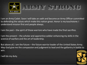 army jrotc cadet creed